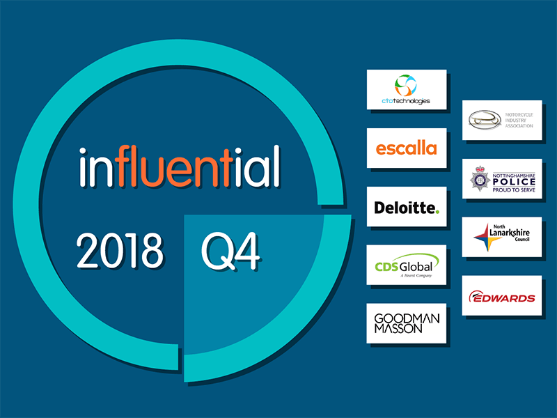 Q4 2018 - Influential New Clients
