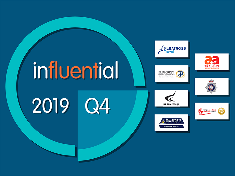New Clients in Q4, 2019 - Influential Software Services Ltd