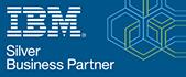 IBM Silver Business Partner logo - Official UK partners Influential Software Services Ltd