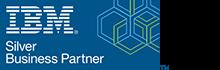 IBM Silver Business Partner logo, Official UK partners Influential Software Services Ltd