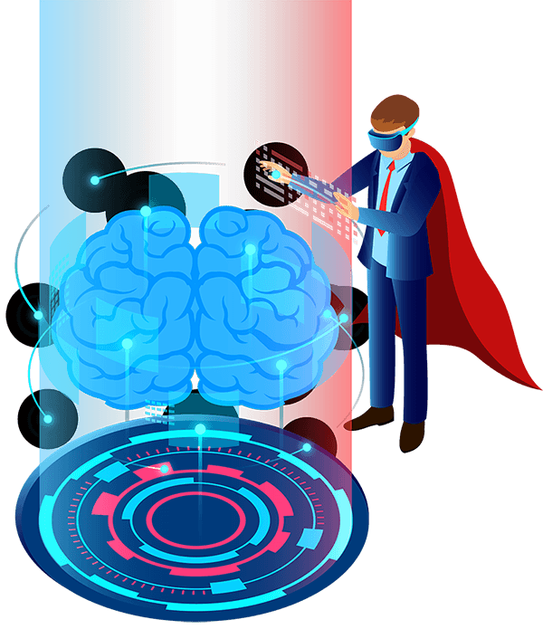 Upgrading minds with Influential IT Training - illustration
