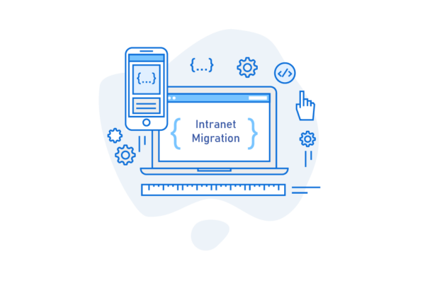 Seamless intranet asset migration