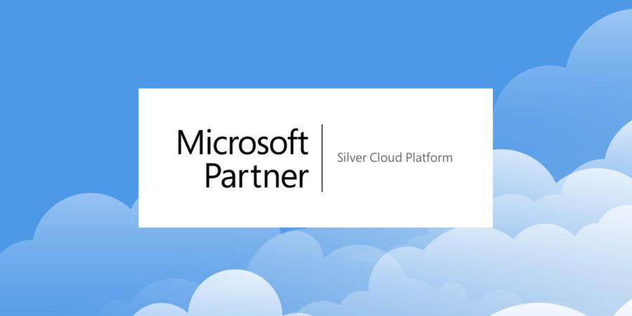 Logo for Microsoft Silver Cloud Platform Competency