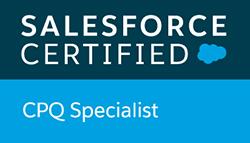 Salesforce Certified CQP Specialist badge