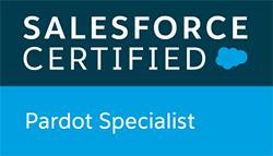 Salesforce Certified Pardot Specialist badge
