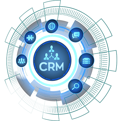 Salesforce CRM services icons