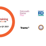 A graphic showing our new Apple training clients in Q1 2021