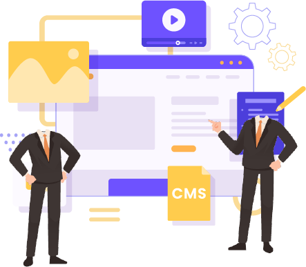 two headless business men representing our headless cms solutions