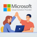 Graphic of business people representing the Microsoft CSP benefits for customers