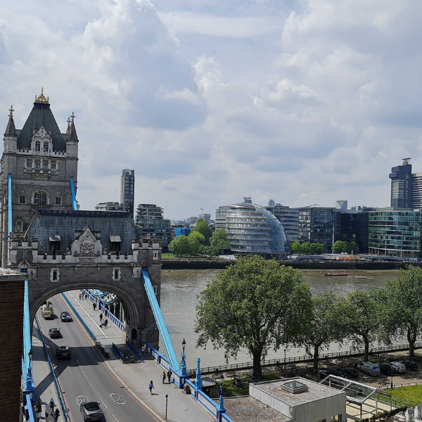 image of tower bridge from influential softwares new office