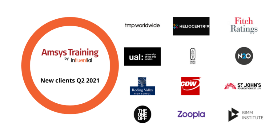 Our New Apple Training clients in Q2 2021