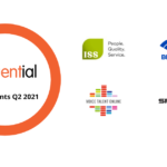 A graphic showing our new influential software clients in Q2 2021