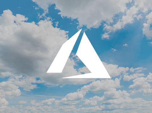 Benefits of migration to Microsoft Azure represented by Azure logo in the clouds