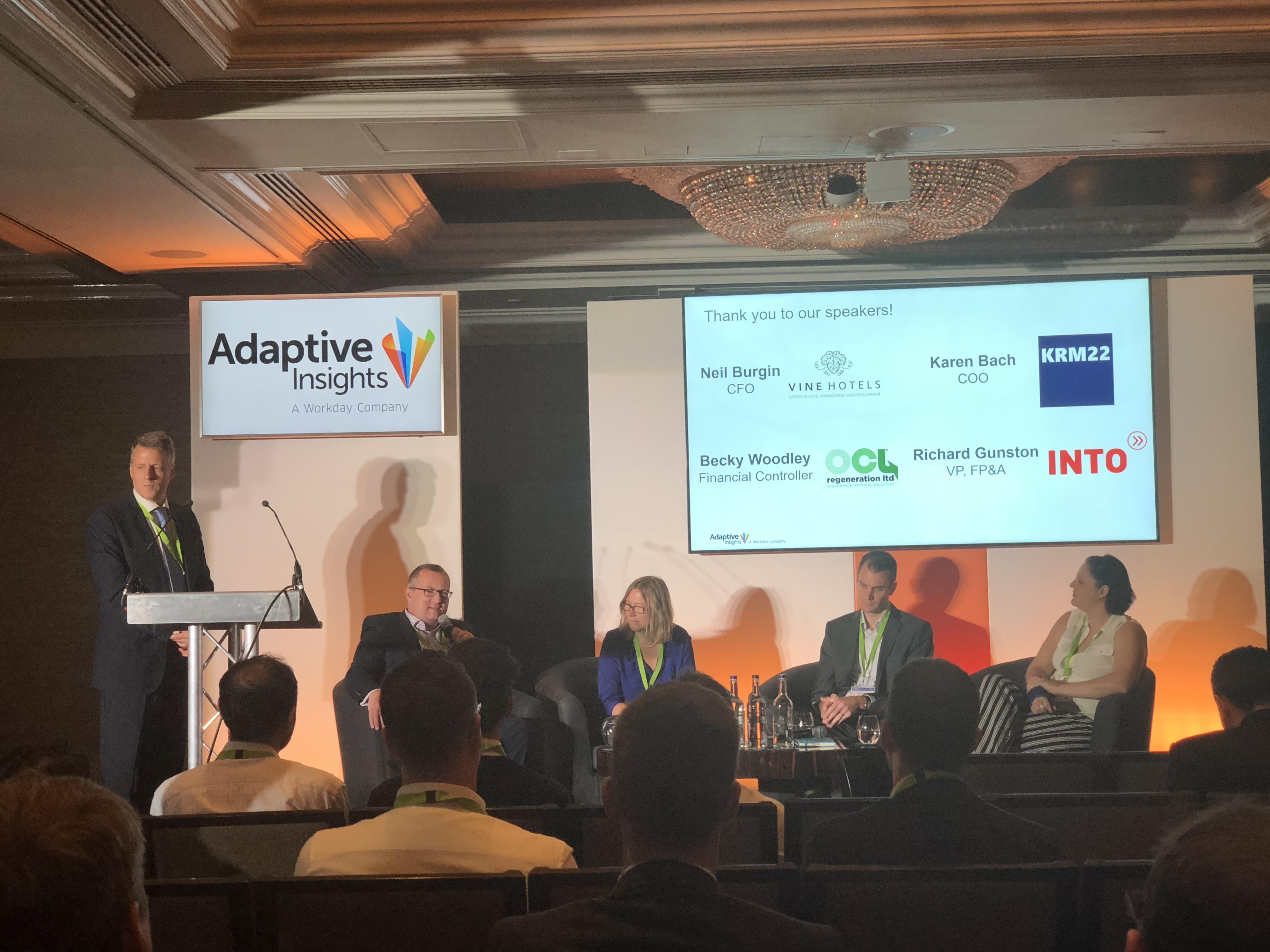 Adaptive Insights European Partner Rally London