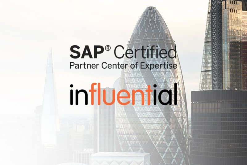 Influential Software Retains SAP Partner Centre of Expertise Status