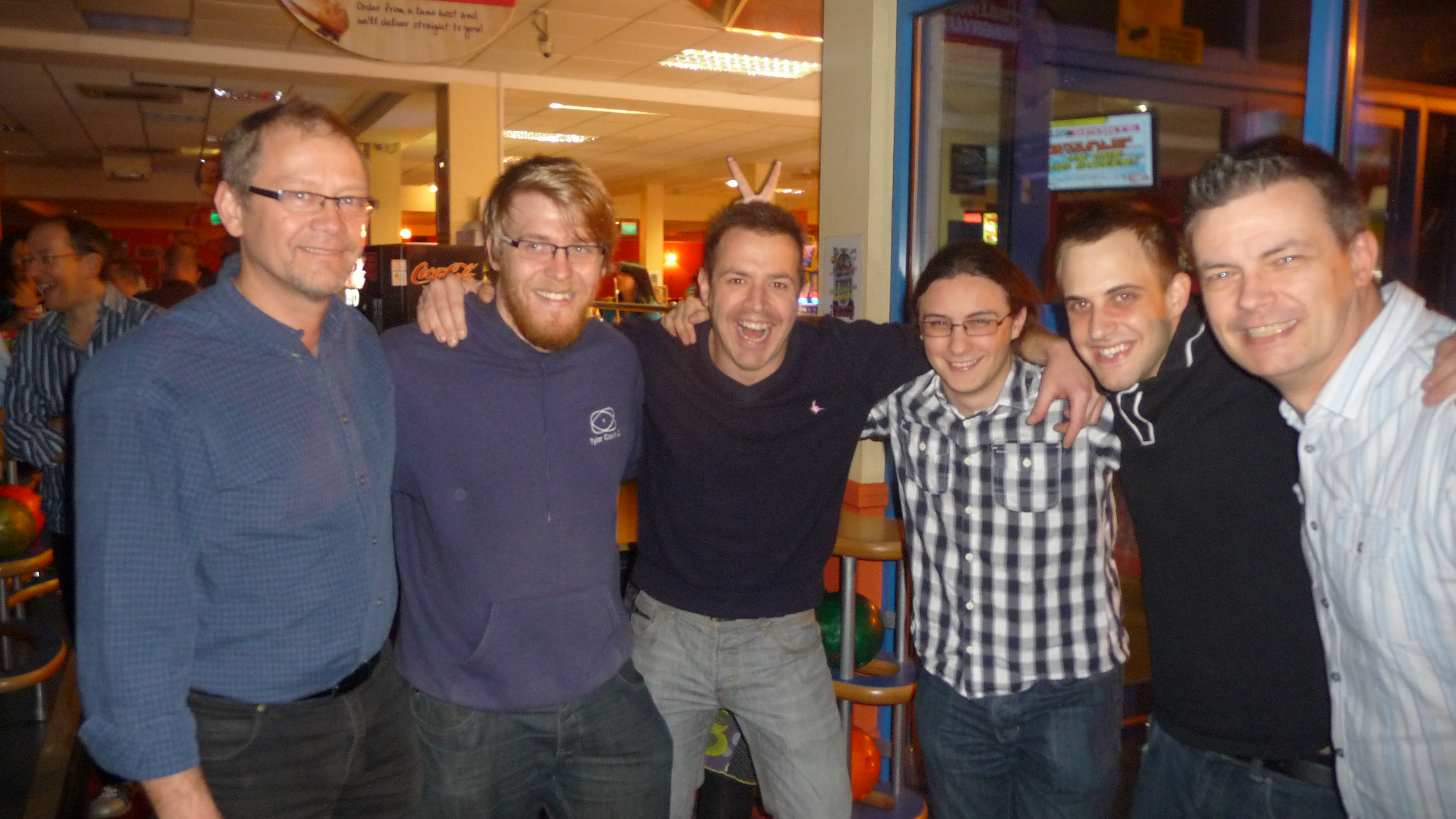 Influential Movember bowling winners