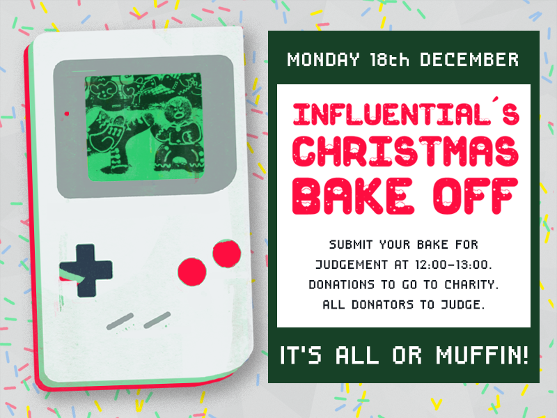 Influential Software's Charity Christmas Bake Off 2017