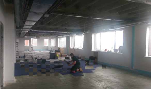 Development of new kent office continues to schedule for Grow room software