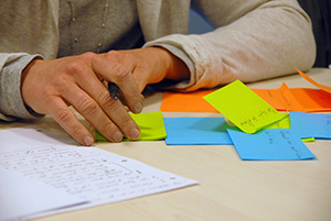 Post-its and notes