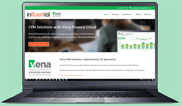 UK Vena Partner Services to Boost Finance Agility | Influential Software News