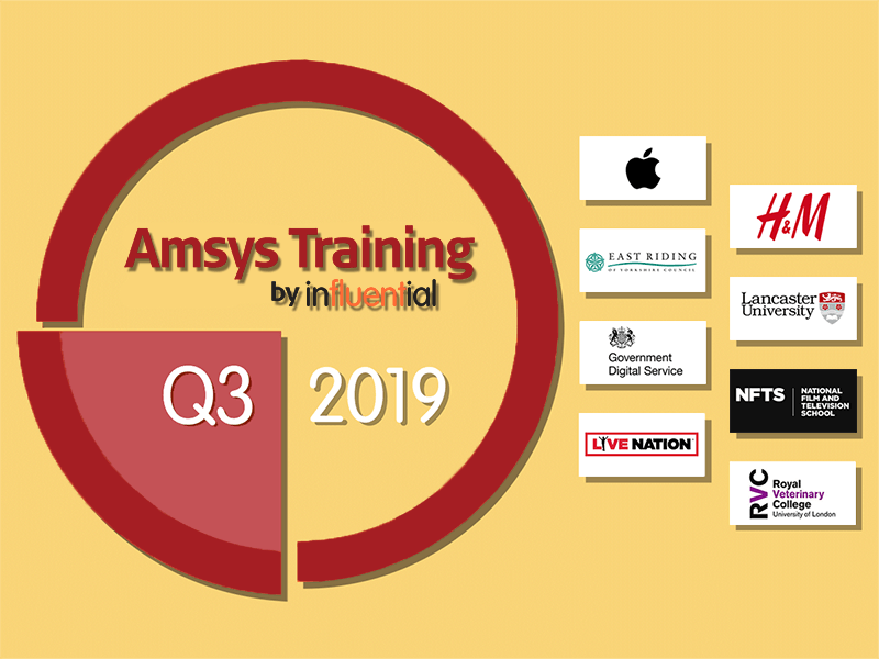Influential Software's Apple training clients in Q3, 2019 - News