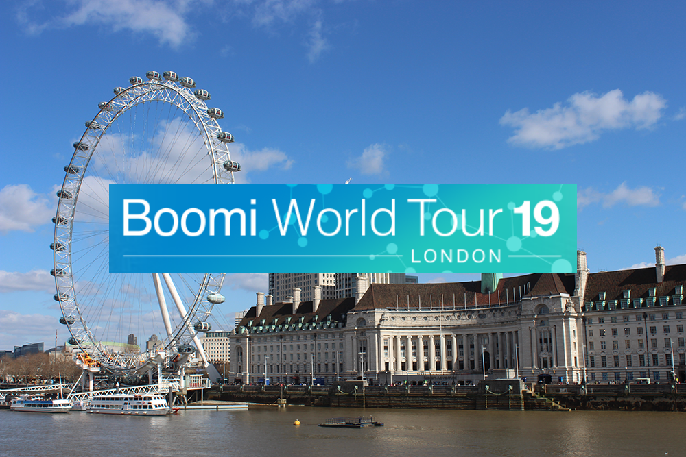 Boomi World Tour London 2019 - Dell Boomi Partner Influential Software