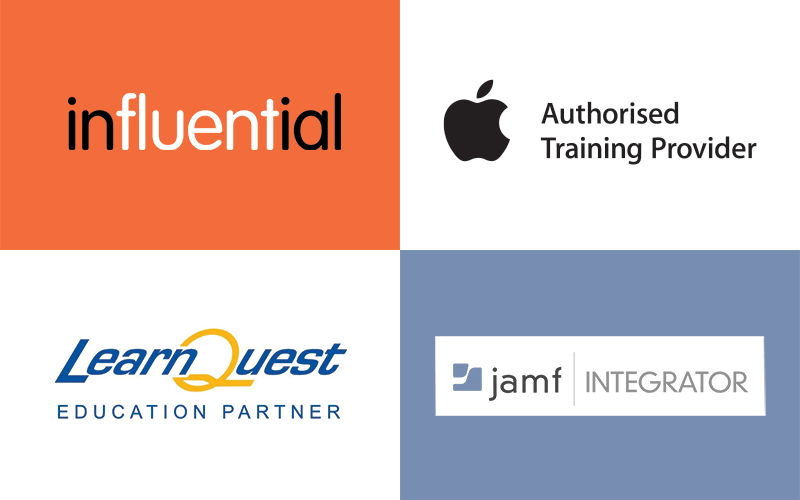 Influential announce Amsys Training Acquisition to become Authorised Apple Training Provider, LearnQuest Education Partner, and JAMF Partner.
