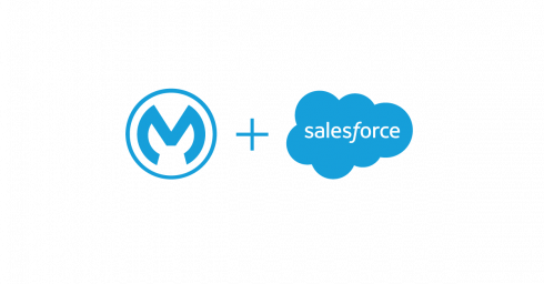 MuleSoft + Salesforce (logos) - Salesforce acquire MuleSoft