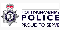 Nottinghamshire Police, UK Public Sector, responsible for law enforcement in Nottinghamshire.