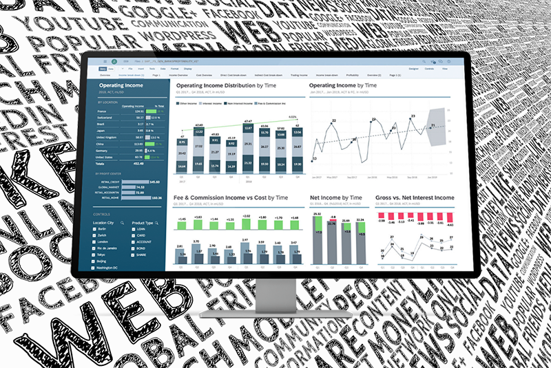 Natural language query analytics are a key innovation in SAP's next-generation offering, SAP Analytics Cloud.
