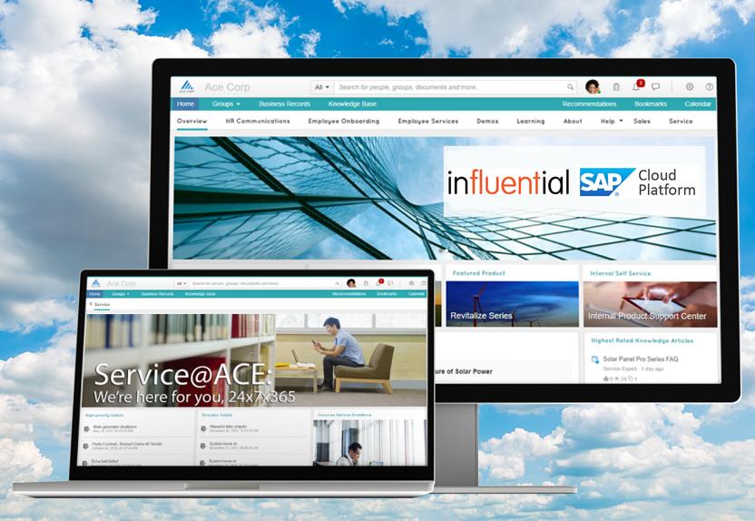 SAP Cloud Platform website - Influential Software news