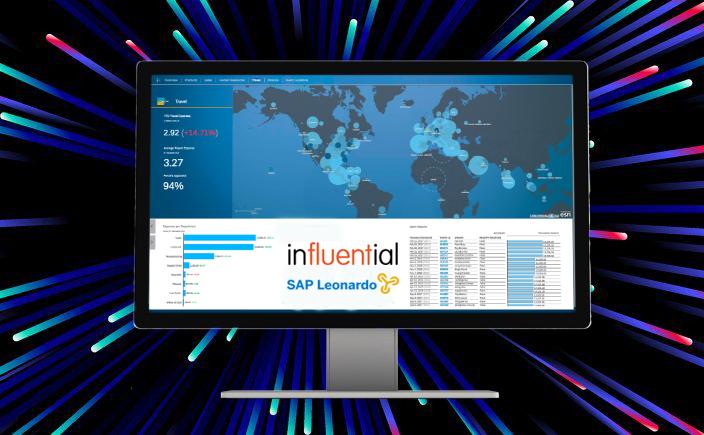 SAP Leonardo Website - Influential Software