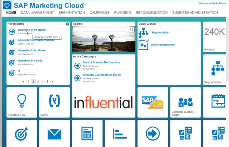 SAP Marketing Cloud update September 2018 news