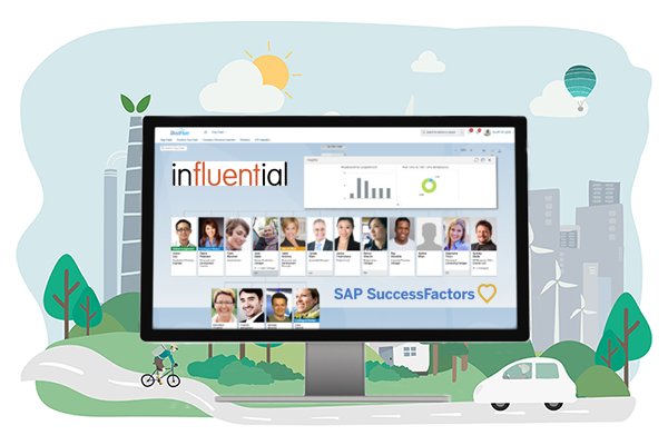 SAP SuccessFactors website - Influential Software news