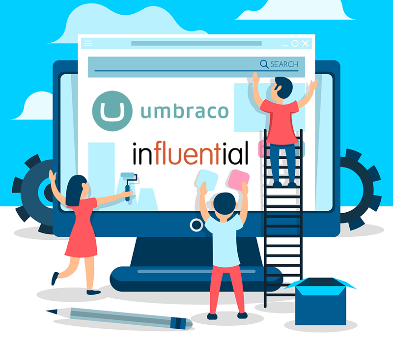 Umbraco Services Website - Influential Software UK